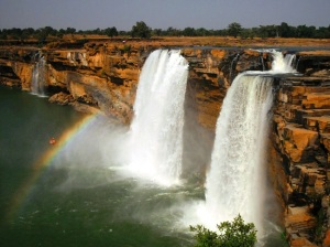Chitrakot Falls in Chhaitisgarh, India