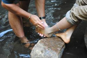 Freedom Firm Camp Avalanche - Foot Washing