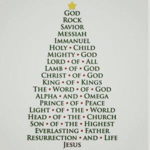 God, Rock, Savior, Messiah...
