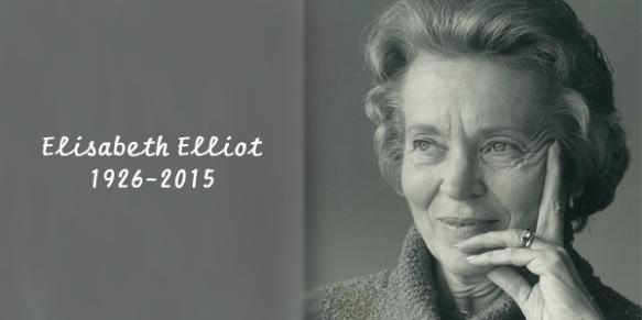 Elizabeth Elliot 1926 - 2015