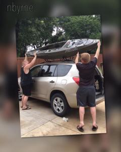 Byrne Kayaking 2017