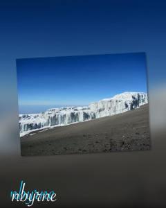 Mt. Kilimanjaro Glacier 2012