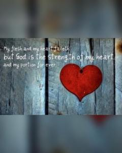 My Flesh and My Heart